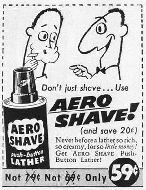 AERO SHAVE LIFE 04/01/1957 p. 124
