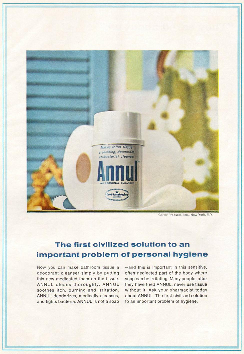 ANNUL PERSONAL CLEANSER GOOD HOUSEKEEPING 10/01/1965