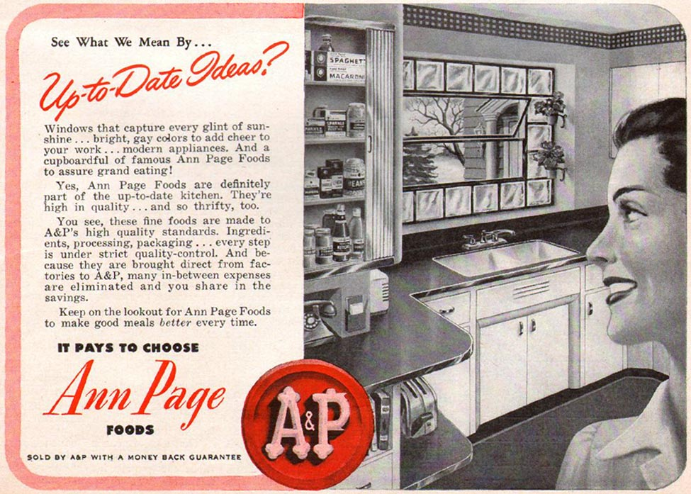 ANN PAGE FOODS WOMAN'S DAY 01/01/1947 p. 11