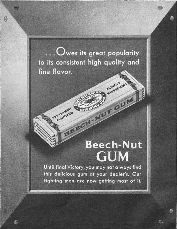 BEECH-NUT CHEWING GUM LIFE 03/12/1945 p. 113