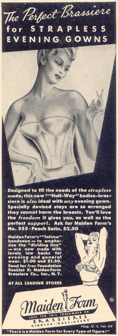 MAIDENFORM BRA LIFE 10/17/1938 p. 64