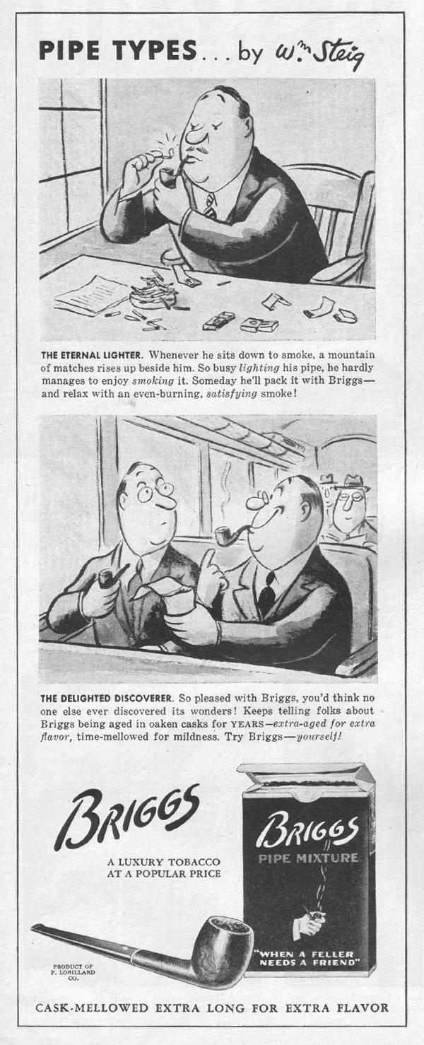 BRIGGS PIPE MIXTURE LIFE 03/12/1945 p. 88