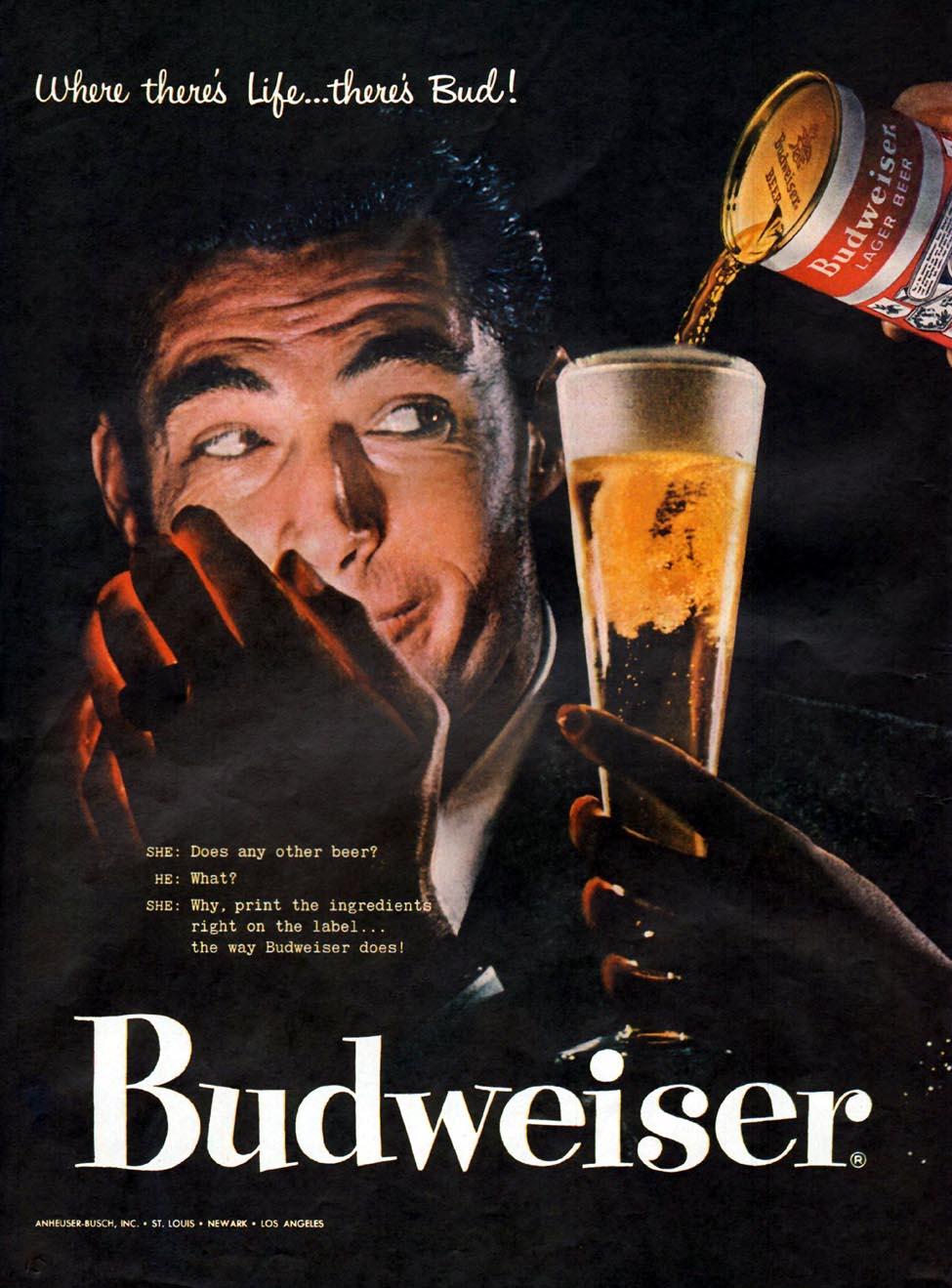 BUDWEISER BEER LIFE 09/09/1957 p. 22