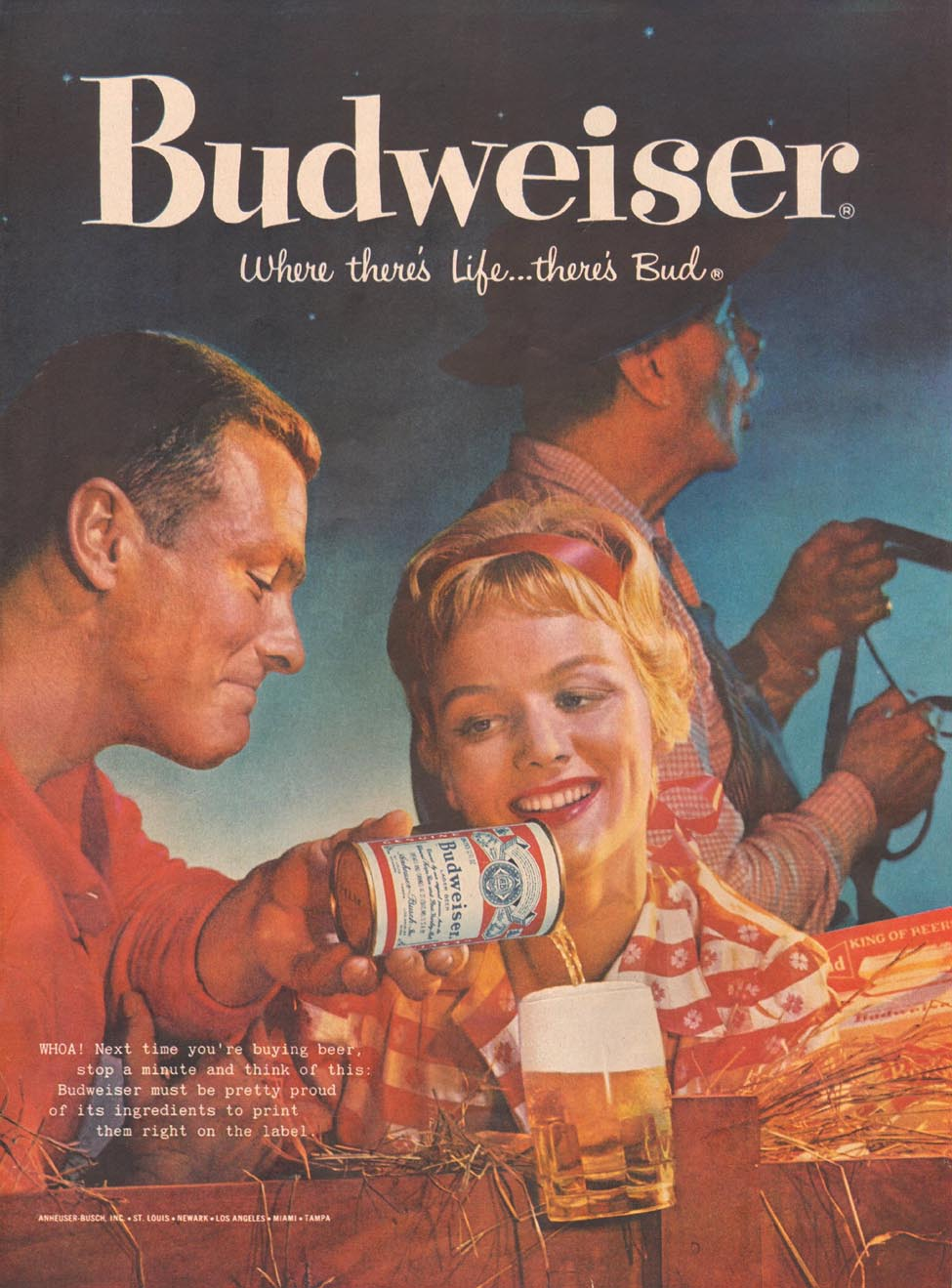 BUDWEISER BEER LIFE 10/05/1959