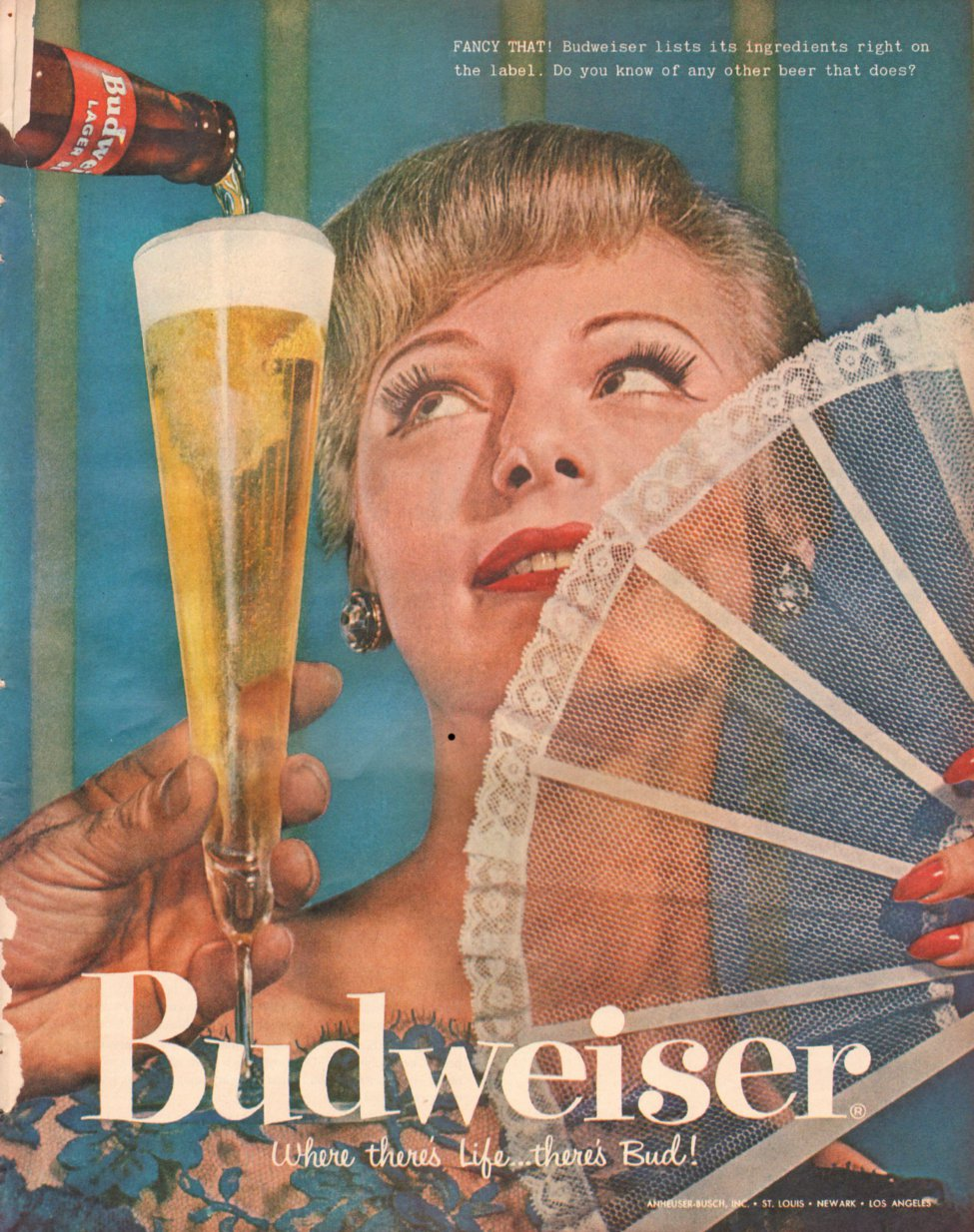 BUDWEISER BEER LOOK 10/29/1957 p. 97
