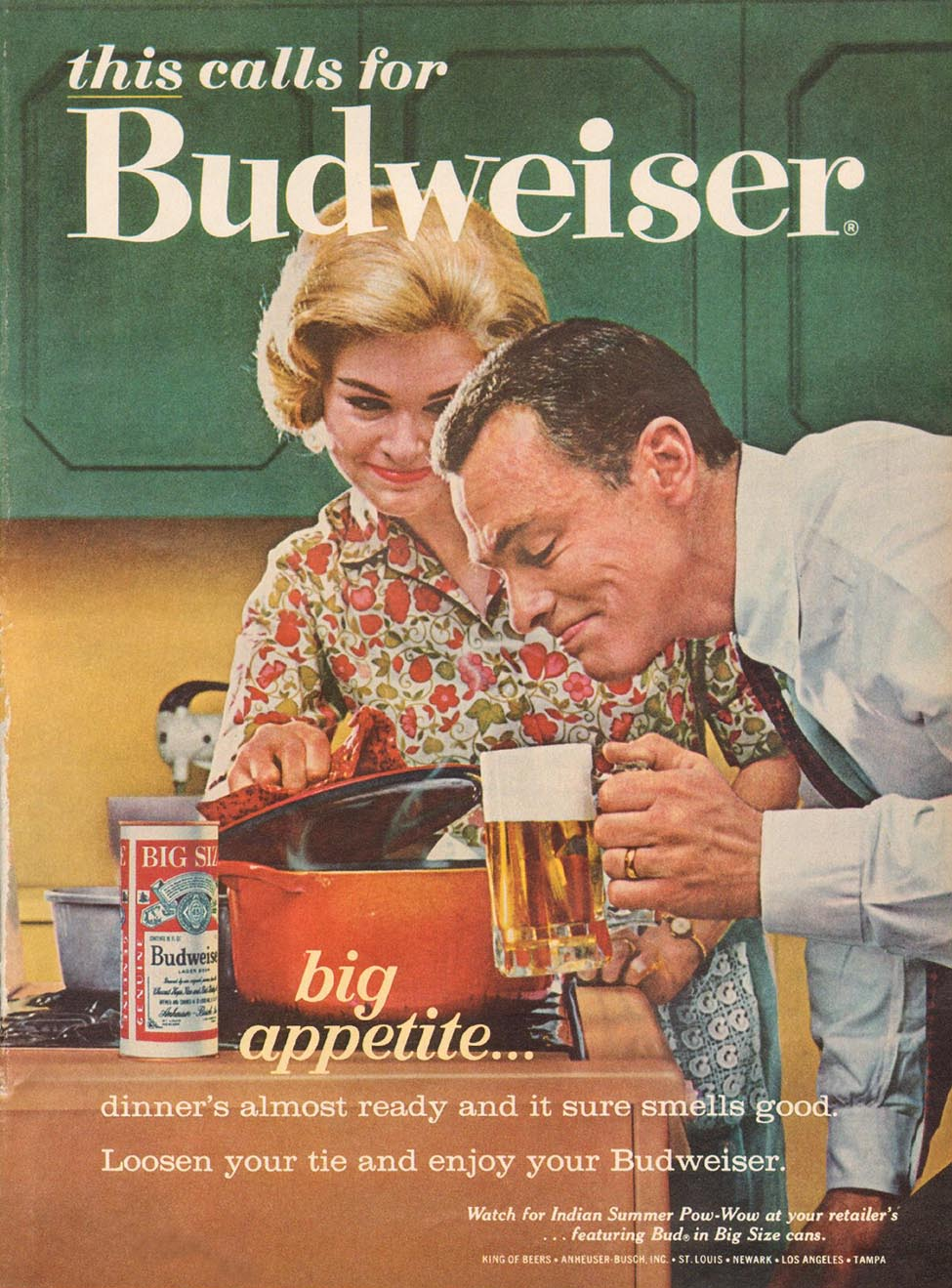 BUDWEISER BEER TIME 10/04/1963 p. 67