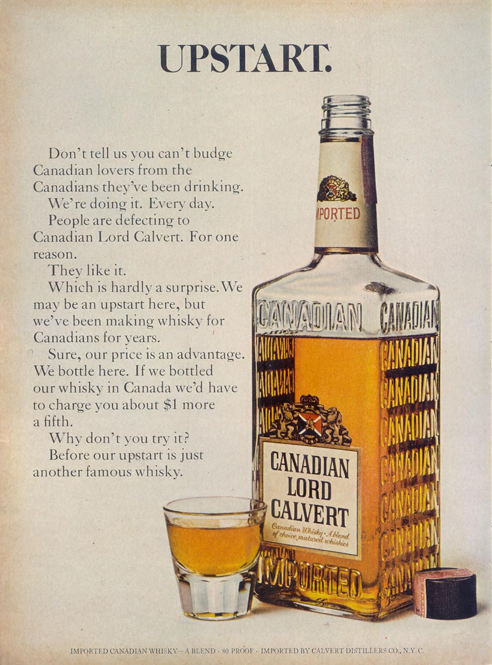 LORD CALVERT WHISKEY TIME 03/11/1966 p. 36