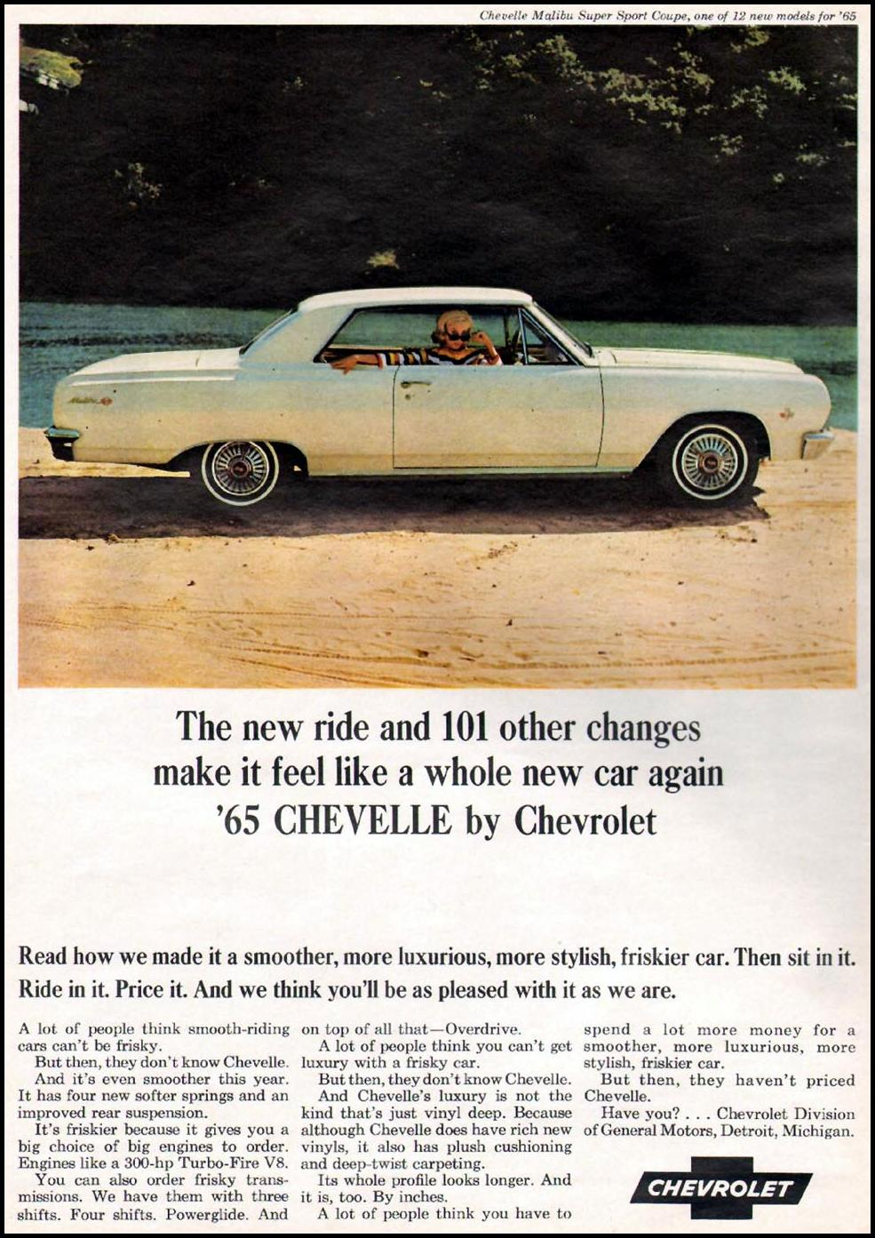 CHEVROLET AUTOMOBILES NEWSWEEK 10/12/1964