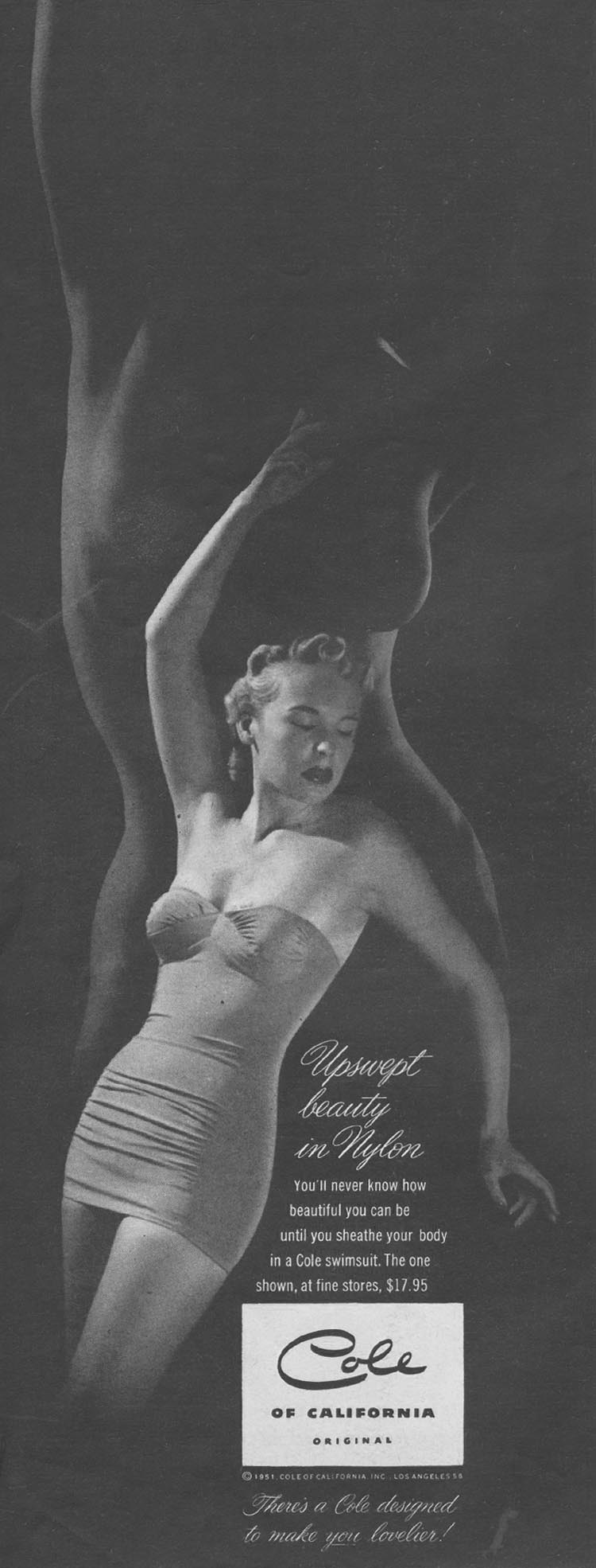 COLE SWIMSUITS LIFE 04/30/1951 p. 82