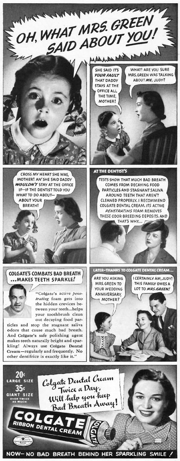 COLGATE DENTAL CREAM LIFE 09/16/1940 p. 15