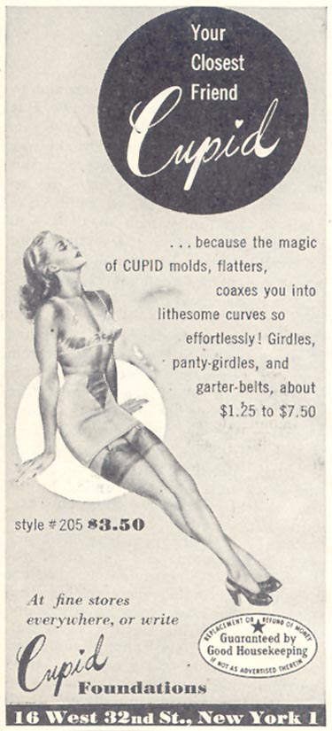 CUPID FOUNDATIONS GOOD HOUSEKEEPING 07/01/1948
