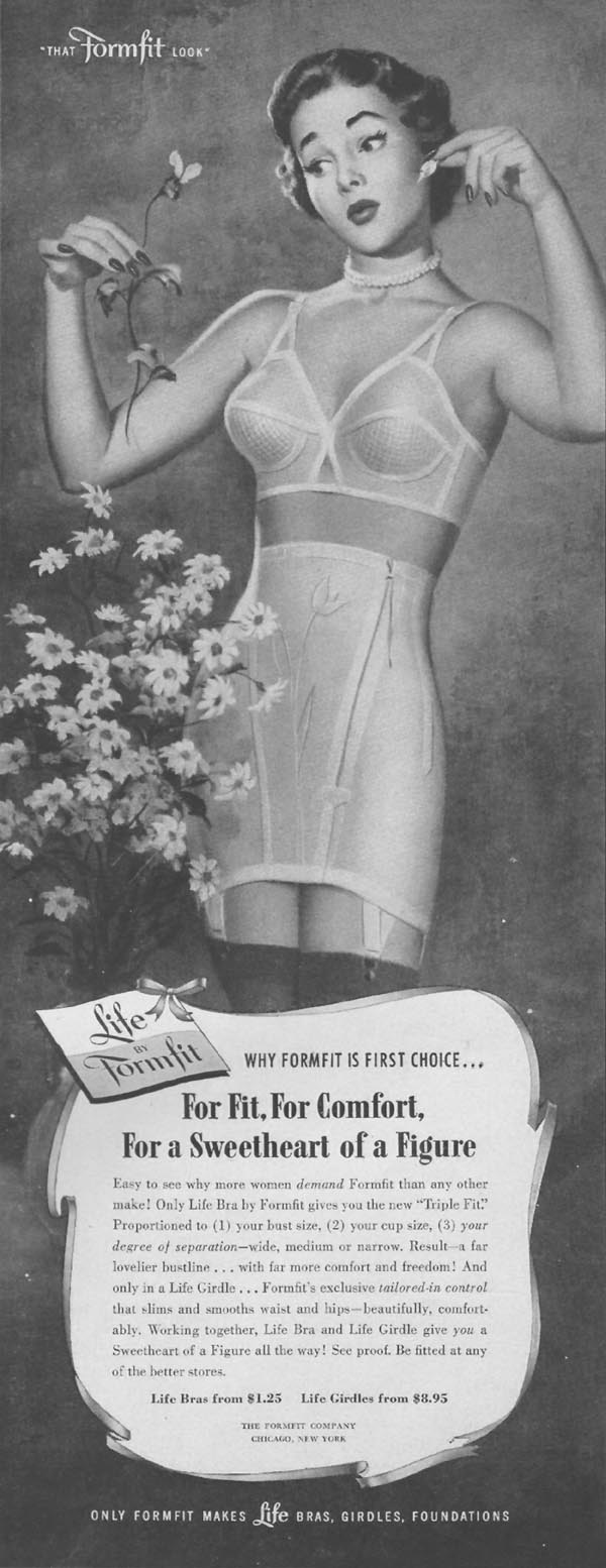 LIFE-BRA BY FORMFIT LIFE 10/01/1951 p. 37
