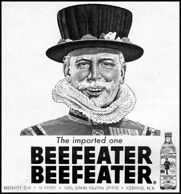 BEEFEATER GIN NEWSWEEK 10/12/1964 p. 2