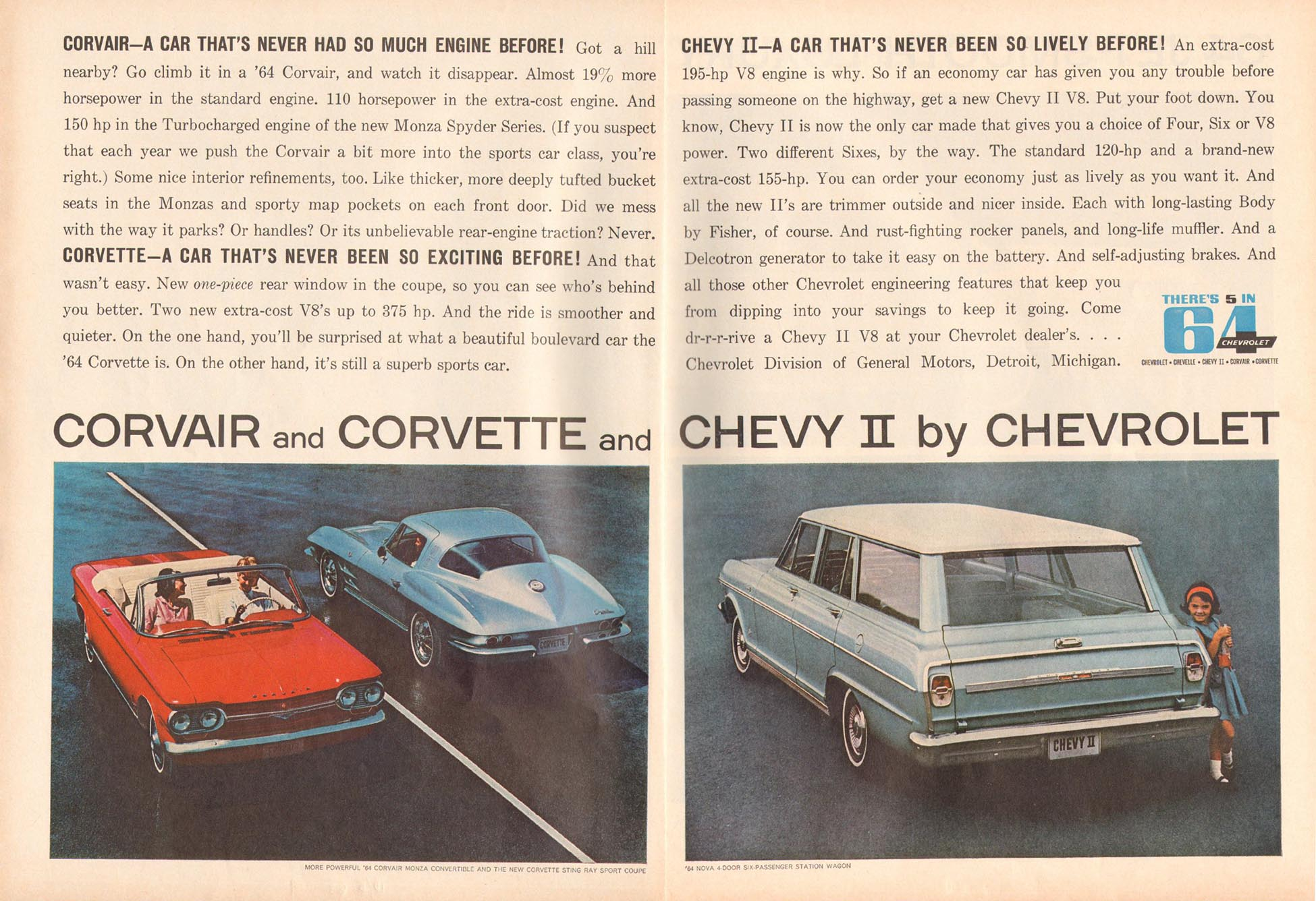 CHEVROLET AUTOMOBILES TIME 10/04/1963