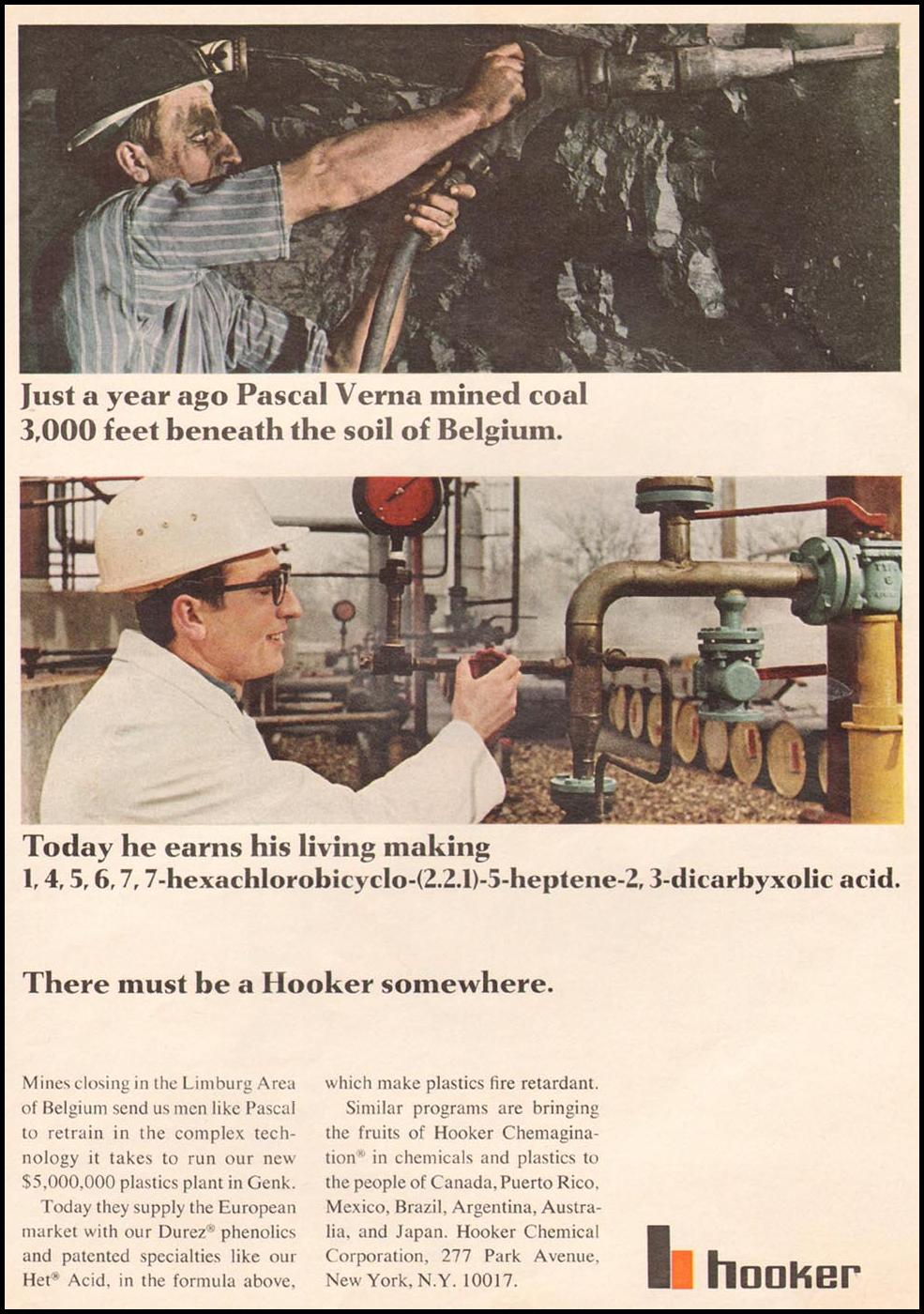 INDUSTRIAL CHEMICALS NEWSWEEK 06/17/1968