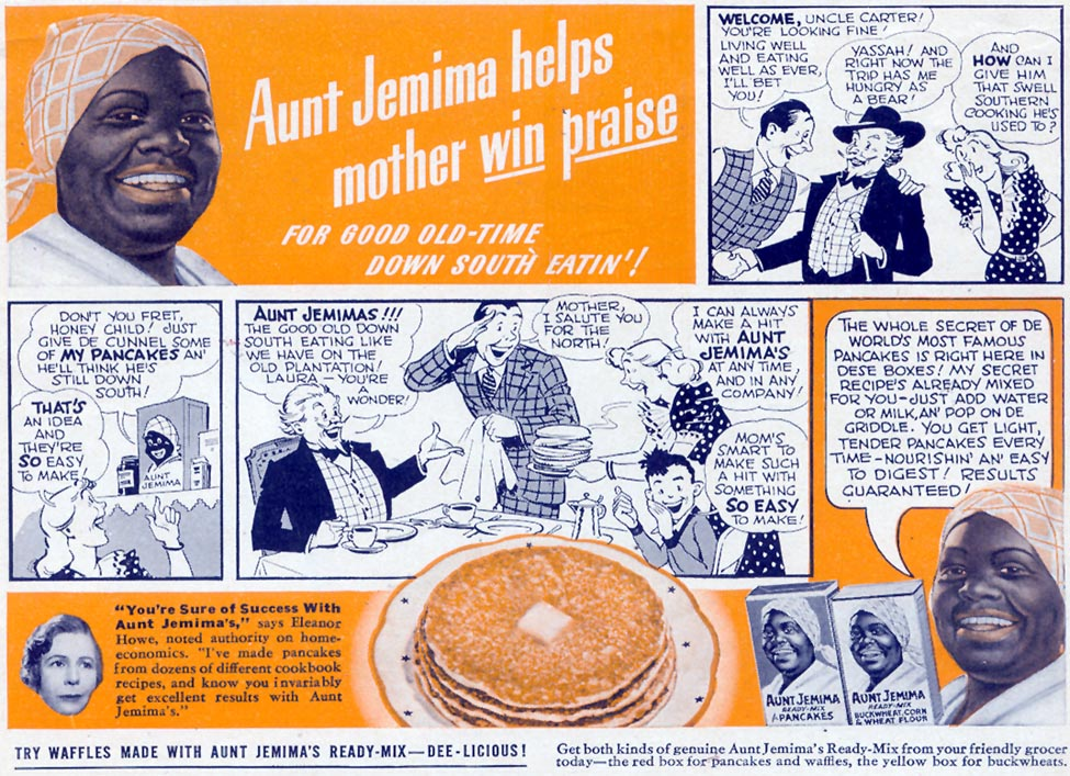 AUNT JEMIMA WOMAN'S DAY 10/01/1940 p. 3