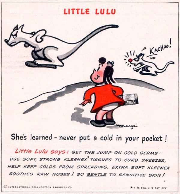 KLEENEX TISSUES WOMAN'S DAY 12/01/1949 p. 100