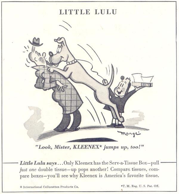 KLEENEX TISSUES GOOD HOUSEKEEPING 07/01/1948 p. 219