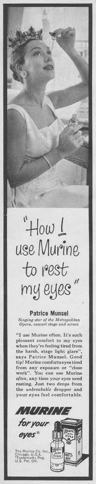 MURINE LOOK 10/29/1957 p. 134