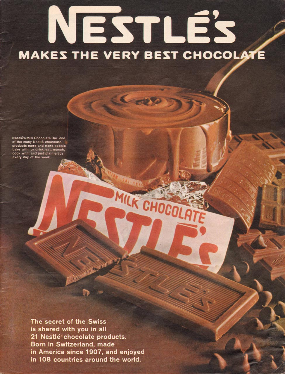NESTLE'S CHOCOLATE LIFE 12/22/1967