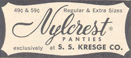 NYLCREST PANTIES LIFE 11/11/1957 p. 15