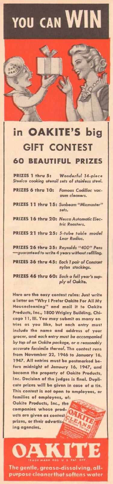OAKITE WOMAN'S DAY 01/01/1947 p. 52