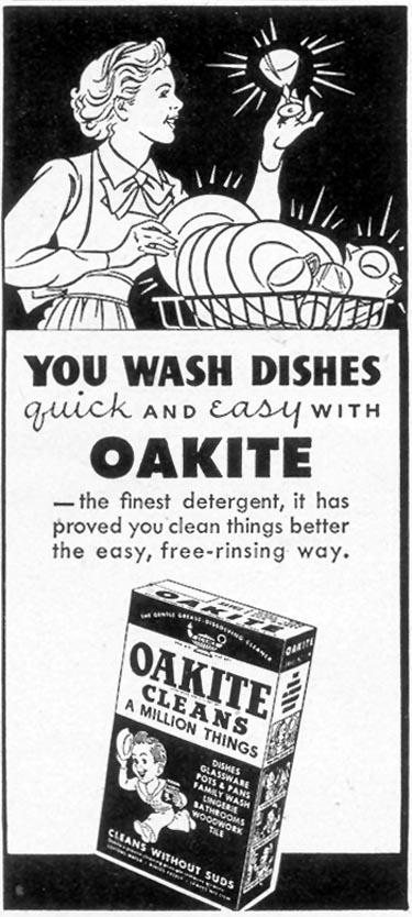 OAKITE WOMAN'S DAY 02/01/1950 p. 132