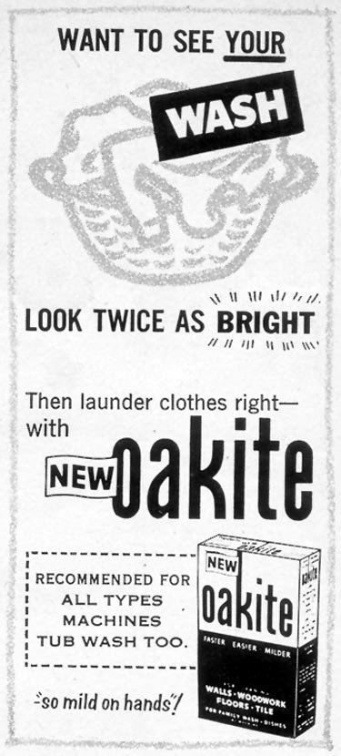 OAKITE WOMAN'S DAY 10/01/1954 p. 176