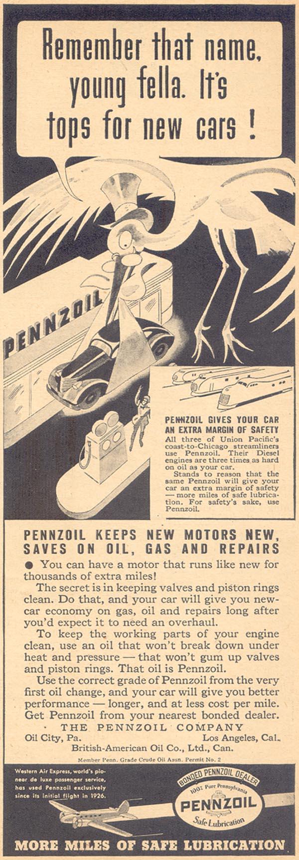 PENNZOIL MOTOR OIL LIBERTY 11/28/1936 p. 39