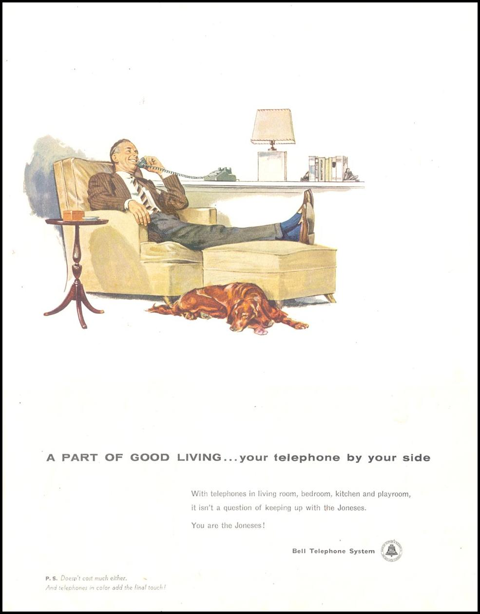 TELEPHONE SERVICE LIFE 10/29/1955 p. 49