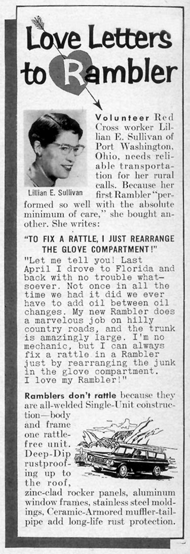 RAMBLER AUTOMOBILES TIME 02/23/1962 p. 112
