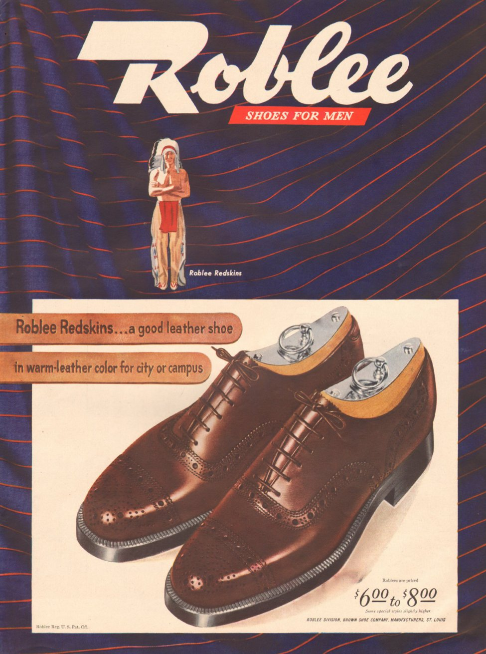 ROBLEE SHOES FOR MEN LIFE 03/12/1945