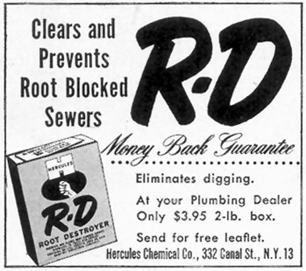 R-D ROOT DESTROYER SATURDAY EVENING POST 10/29/1955 p. 128