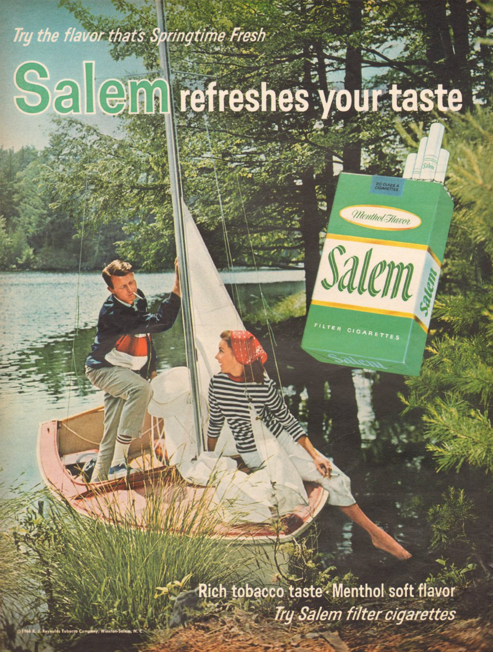 SALEM CIGARETTES LIFE 11/04/1966