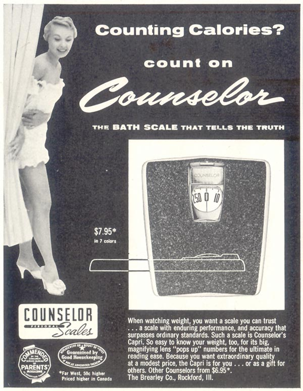 COUNSELOR SCALES SATURDAY EVENING POST 12/10/1955 p. 112