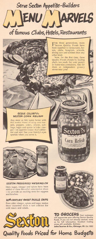 SEXTON FOODS LIFE 07/02/1951 p. 86