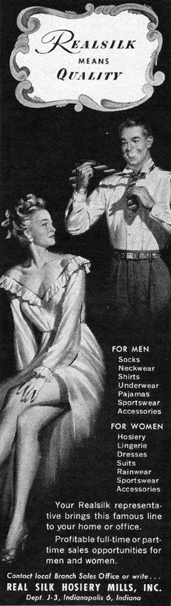 REALSILK LADIES' HOME JOURNAL 07/01/1949 p. 18