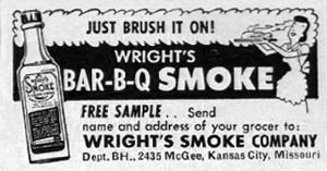 WRIGHT'S BAR-B-Q SMOKE BETTER HOMES AND GARDENS 03/01/1960 p. 118