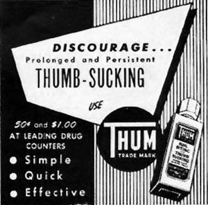 THUM NAIL-BITING AND THUMB-SUCKING REMEDY LADIES' HOME JOURNAL 07/01/1949 p. 124