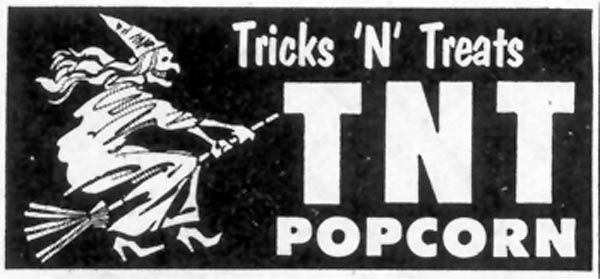 TNT POPCORN SATURDAY EVENING POST 10/29/1955 p. 126