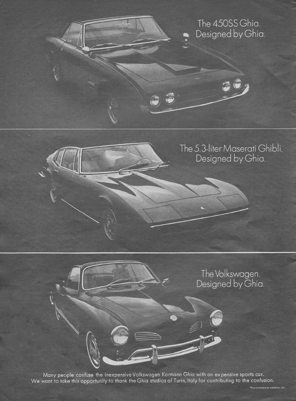 VOLKSWAGEN AUTOMOBILES NEWSWEEK 05/20/1968