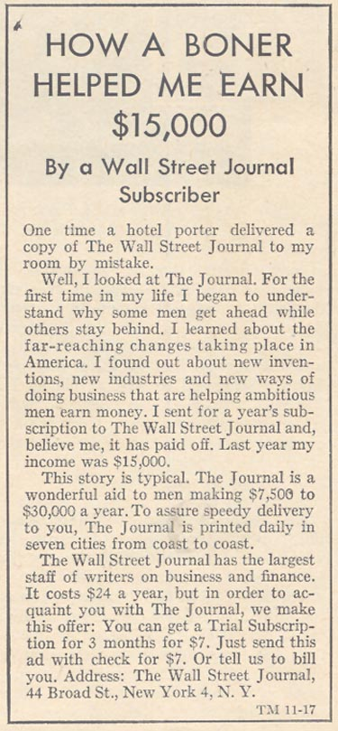 THE WALL STREET JOURNAL TIME 11/17/1961 p. 40
