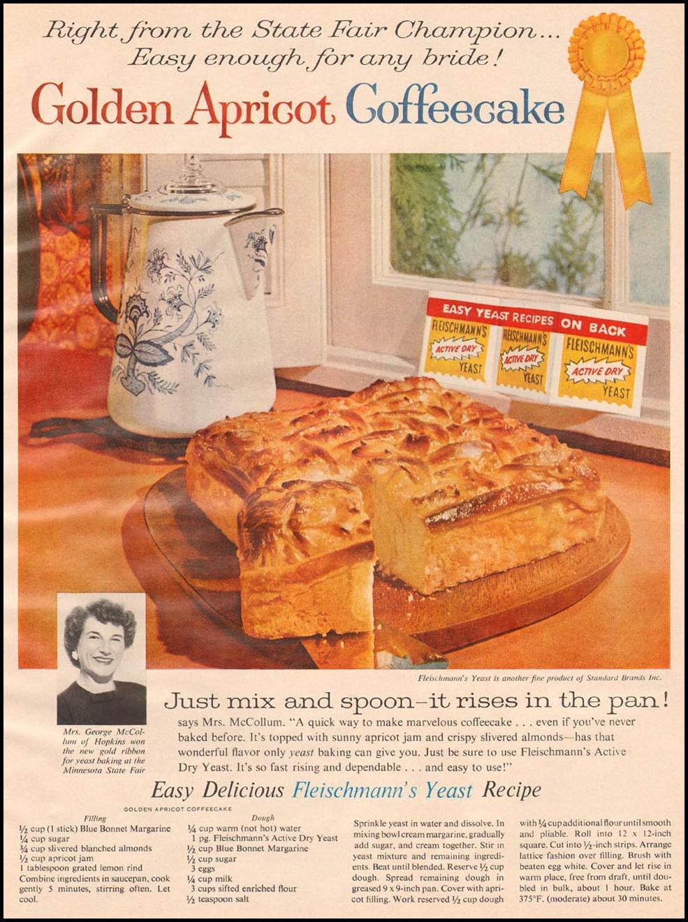 FLEISCHMANN'S YEAST BETTER HOMES AND GARDENS 03/01/1960 p. 127